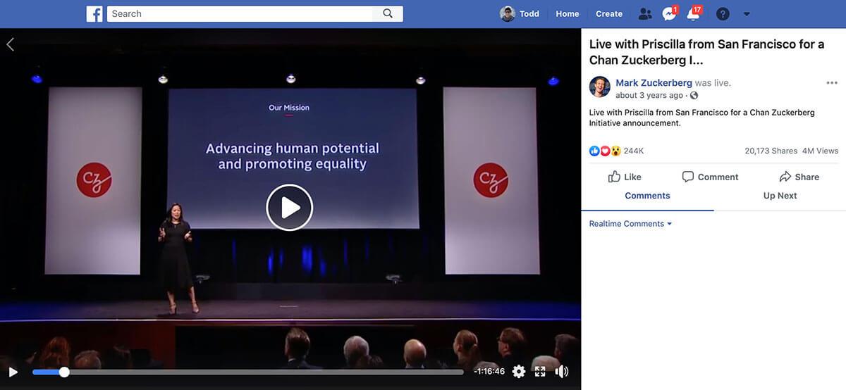 Chan Zuckerberg Initiative Science Live