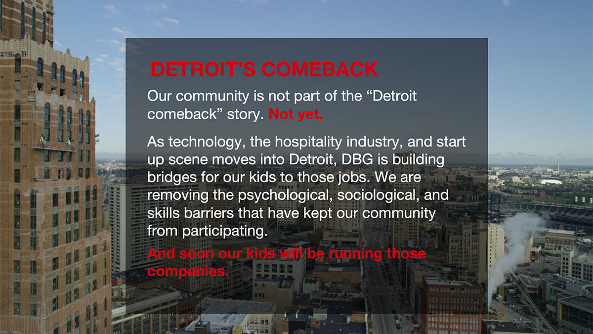 Downtown Detroit Boxing Gym - Comeback