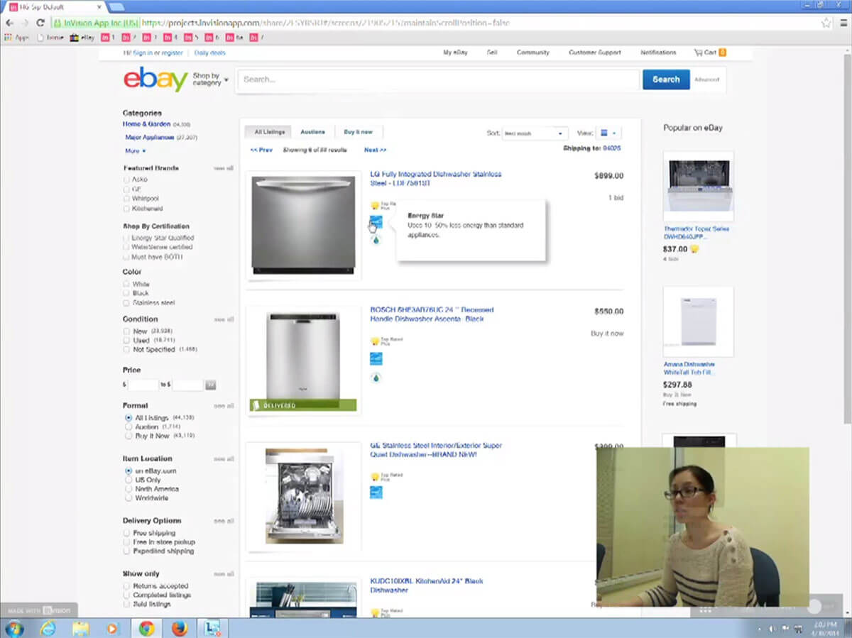 eBay Social Innovation - User Testing