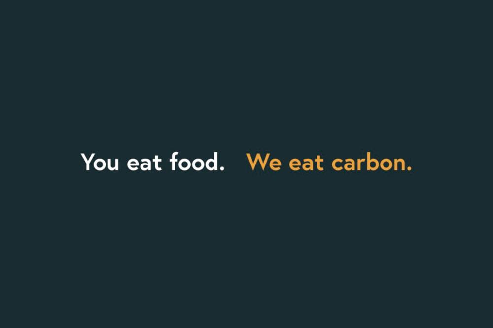 Zero Foodprint Postcard Back